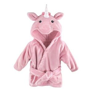 Other - NWT Pink Unicorn Hooded Robe
